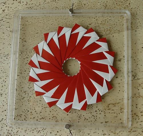 Ring 24 B von Tomoko Fuse - Rückseite (Tagfalter) Tags: origami ring tomokofuse