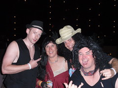 Me, Nancy, Kak, and Taggart (Dudes McCool) Tags: costumeparty rockypoint