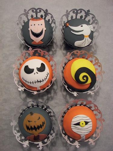 Nightmare Before Christmas Cupcakes