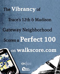 Trace Lofts markets with Walk Score (by: Trace Lofts)