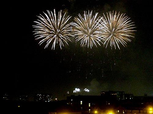 Glasgow Green fireworks