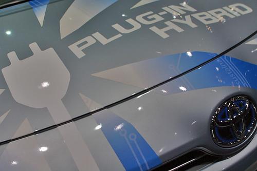 Tokyo Motor Show '09 TOYOTA-Plugin-Hybrid