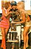 Linda Vaughn on right with winner and trophy (torinodave72) Tags: girl golden linda nascar firebird miss vaughn pure shifter hurst nhra usac