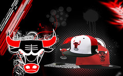 Chicago Bulls Wallpaper (iMagineThis22) Tags: red white chicago black basketball rose photoshop kyle hats taj carlos bulls watson cj ronnie derrick gibson brewer boozer korver