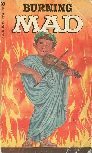 From flickr.com: Burning MAD {MID-154123}