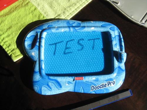 Doodle Pro Test - Front