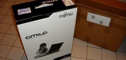 Fujitsu amilo Verpackung