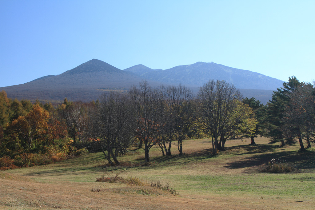 the view of Mt. Hakkoda