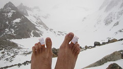 Snow Capped Toes
