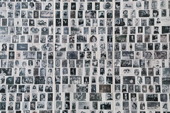 AFS-090657 (Alex Segre) Tags: old white black paris france closeup museum children french holocaust memorial europe european photos interior innocent nobody row photographs rows inside museums dela genocide deported victims shoah deportees deportations alexsegre