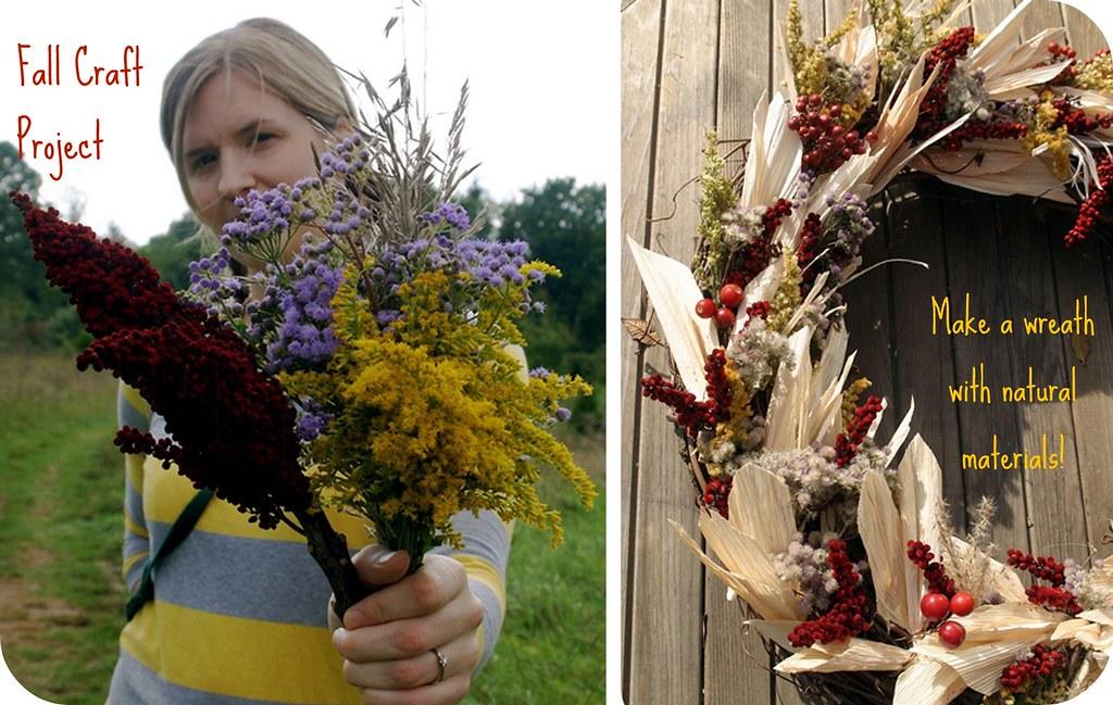 Fall Craft Project : Autumn Wreath