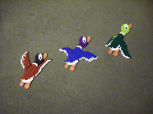 flying duck hunt