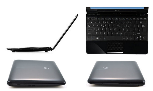 Asus Eee PC 1008HA netbook design