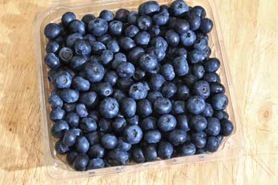 blueberries for fruit salad