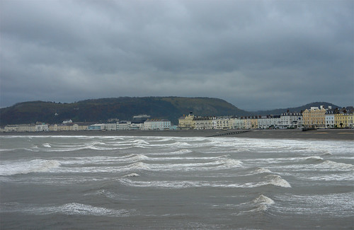 Stormy Day In Llandudno by you.