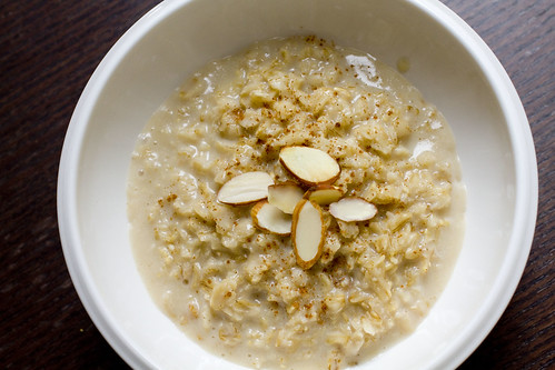 Vanilla Almond Oatmeal 5