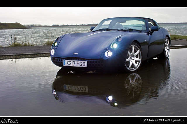 TVR Tuscan Mk1 Speed Six 4.0 Litre By The Sea Edited