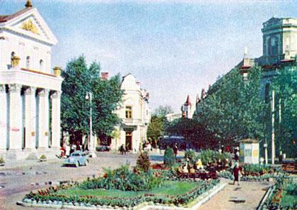 Житомир. ПЛощадь Советов. 1963 год