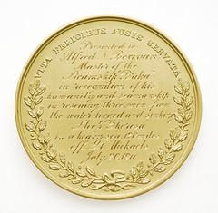 Tiffany Gold Medal Reverse