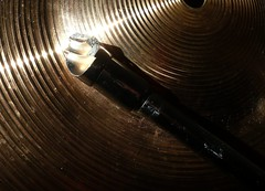 Broken (Lara's  Stuff) Tags: broken cymbal sybian