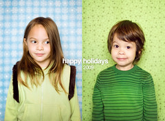 Happy Holidays - Xmas Card (isayx3) Tags: christmas winter portrait 50mm nikon holidays backdrop nikkor f18 60 d3 fifty nifty strobist softlighter