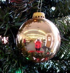 Ornament Reflection (Sandy*S) Tags: christmas reflection ornament posted ansh scavenger31