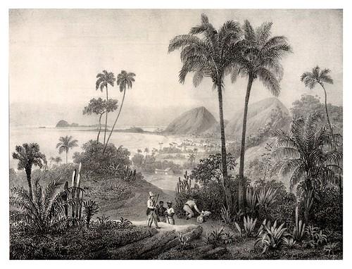 005- Playa Rodríguez cerca de Rio de Janeiro-Villeneuve Louis-Jules-Frédéric-1835