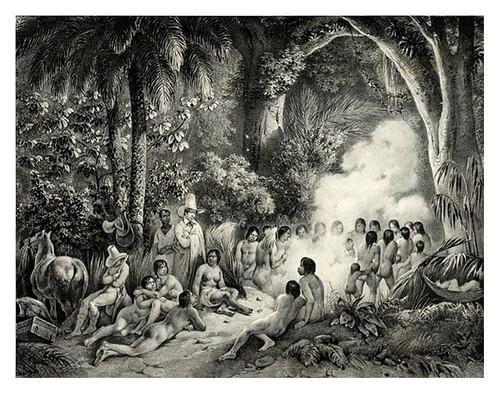015- Danza de los Purys-Adam Victor- Viagem pitoresca através do Brasil 1835