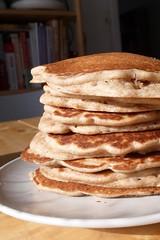 Creamy Stout Rye Pancakes