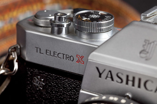 Yashica TL Electro X - Detail