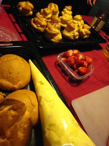 草莓卡士達泡芙 (16)