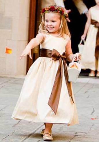 vestido de festa para crianças