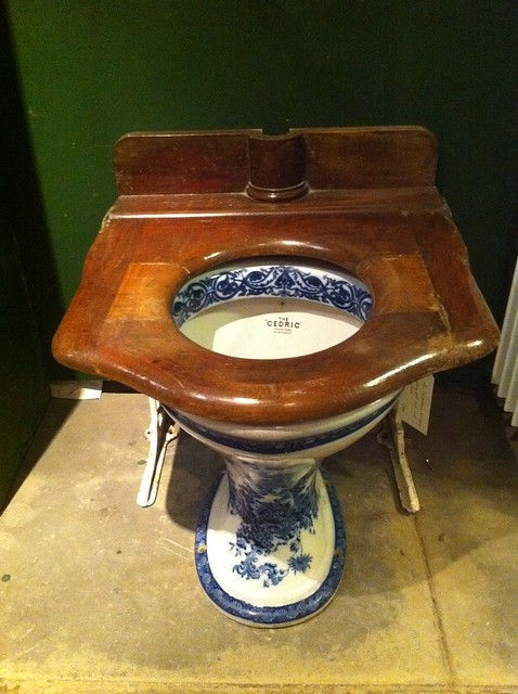 Lassco ornate toilet