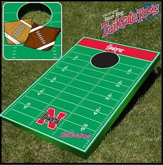 Nebraska Bean Bag Toss Game