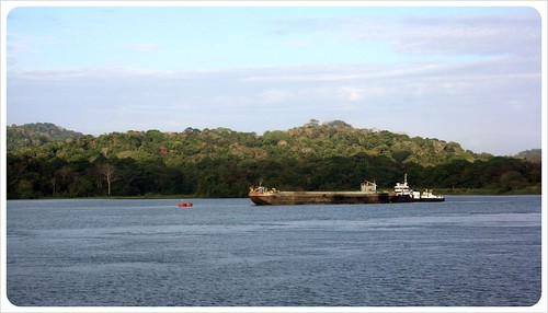Panama Canal view