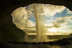 Nature's Window (Matt Champlin) Tags: iceland seljalandsfoss sagan carlsagan quote today world 2017 travel waterfall sunset life random exotic hiking adventure camping