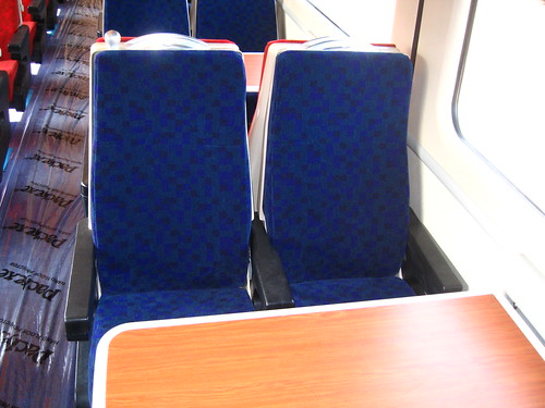 Train Chartering - new UK charter train, Standard (2nd) class interior