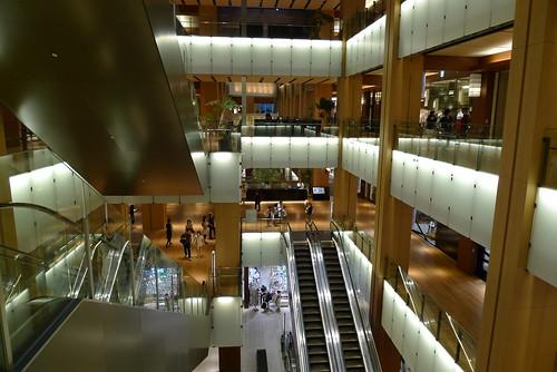 Tokyo Midtown shops area