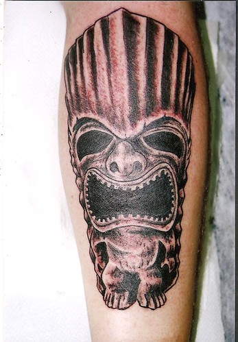 totenkopf tattoo. the misfits tattoo,