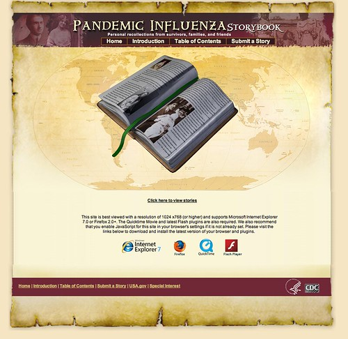 Pandemic Flu Storybook
