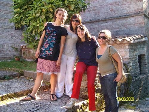 Francesca, Rosita, Paola, Sara - Monastero San Silvestro Fabriano