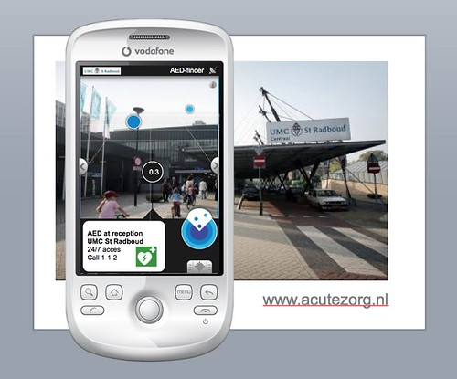 AED Finder Layar by lucienengelen @zorg20