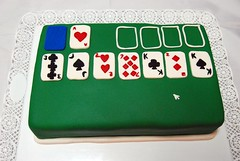 Solo solo (Mariana Pugliese) Tags: windows verde blanco cake azul cards mouse rojo geek negro cartas juego solitario cursor computadora solitaire picas corazones diamantes timba treboles 241543903 marianapugliese cakesolitaire tortasolitario