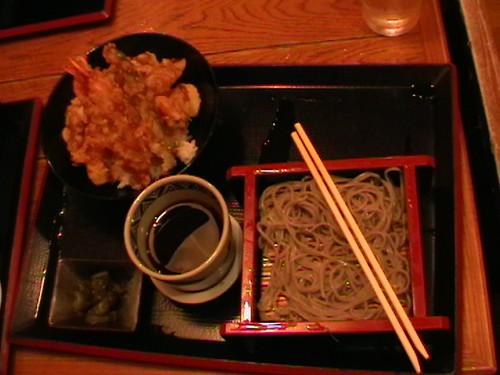 Lunch-Tempura dan Mee Udong