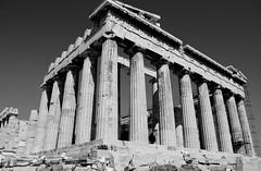 Acropolis (Nate Pabst) Tags: blackandwhite nikon athens parthenon greece 1855mm acropolis d60