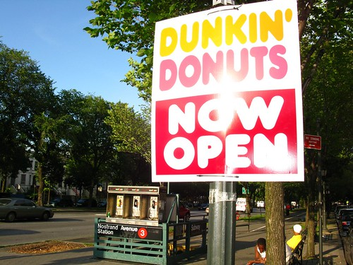 New Crown Heights Dunkin Donuts