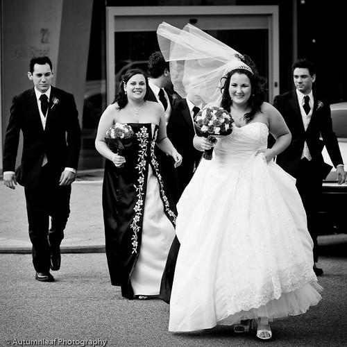 Pamela & Adam's Wedding - Windy Day