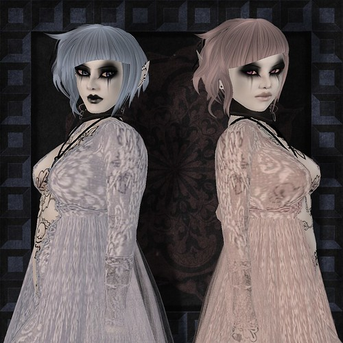 Pink and blue twins by Mourna