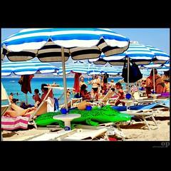 Il Coccodrillo come fa? / How does it sound the crocodile? (Osvaldo_Zoom) Tags: summer people italy beach crowd calabria cocrodile ilcoccodrillocomefa howdoesitsoundthecrocodile ricordidiinfanziasb