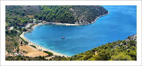 Skyros, pefkos beach por marios kordilas.